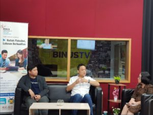 binus tv what is fintech lending speaker agus tjandra
